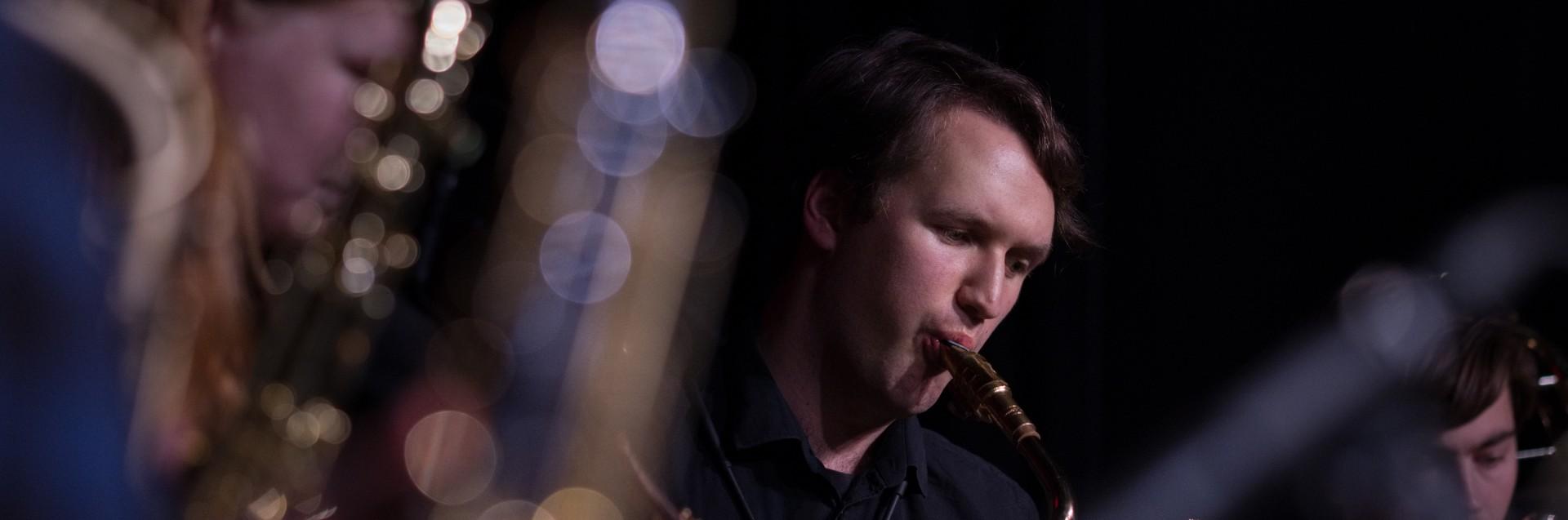 Julekonsert med Bjergsted jazzensemble desember 2018. Foto: Kornelius Kiil Enoksen