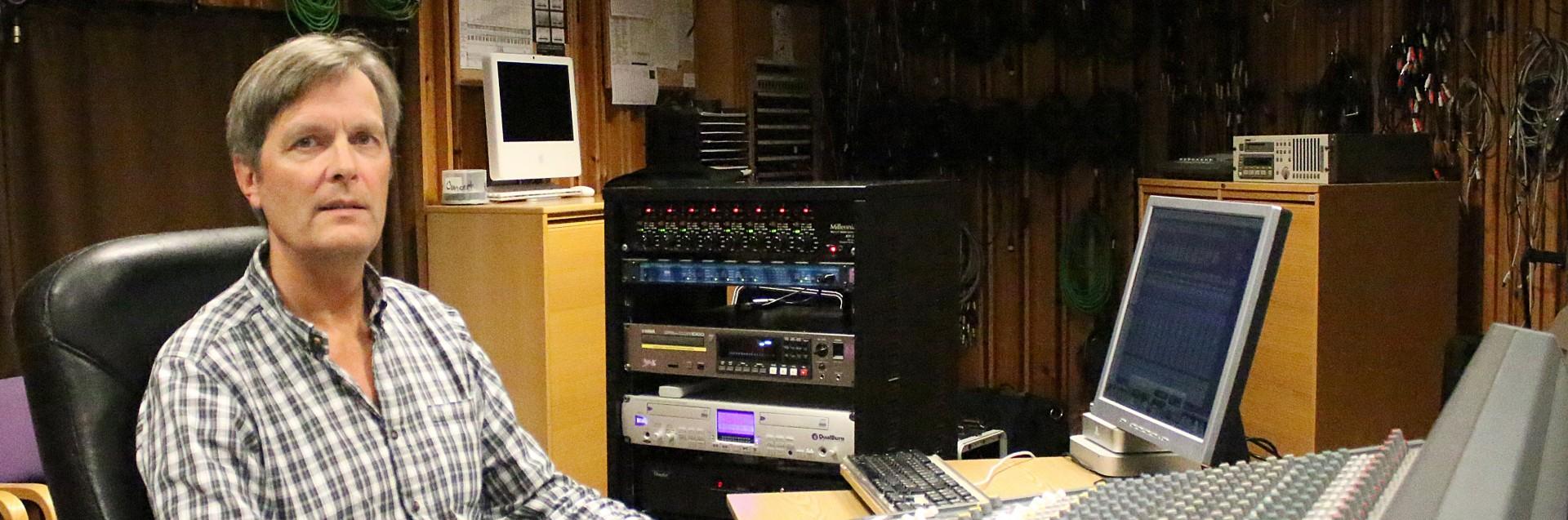 Mark Drews, Musikkproduksjon og opptaksteknikk. Foto: Maria G. Torheim