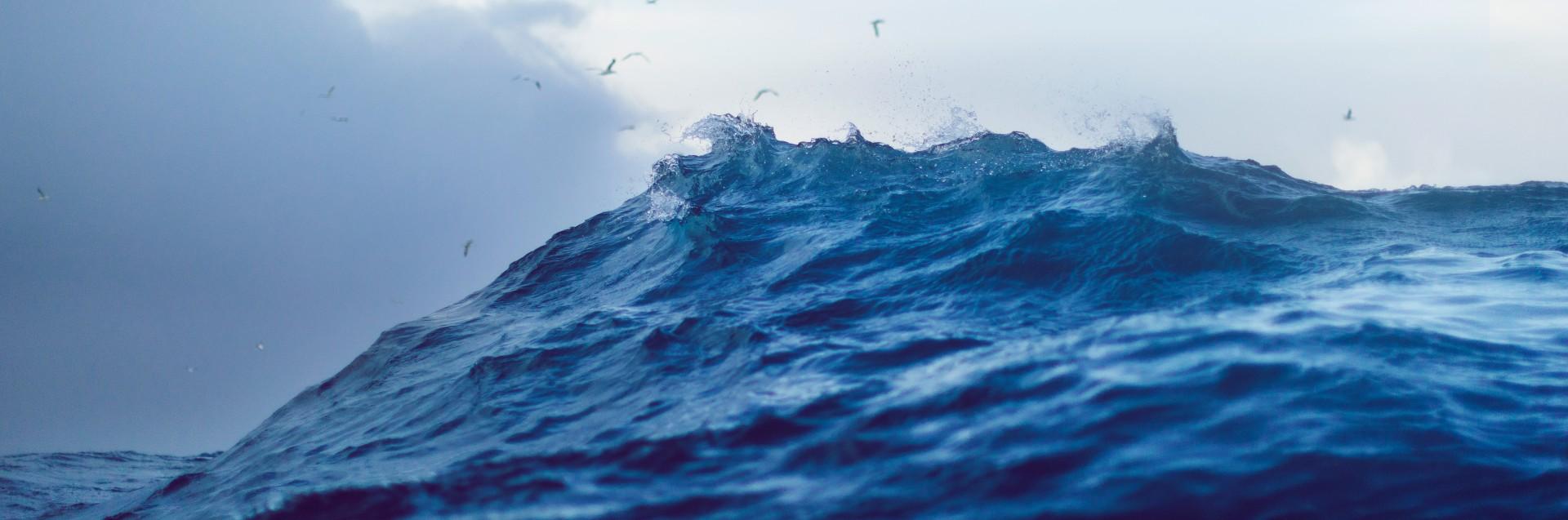 Bølge på åpent hav
