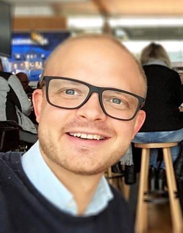 Hotelldirektør ved Ydalir  Martin Rødsen Sagen.