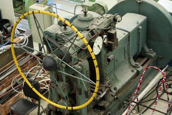 På Kjølv Egelands hus har UiS mange maskiner som brukes i undervisningen. Foto: Leiv Gunnar Lie