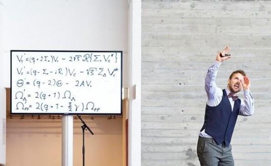 Matematikk og fysikk - Ben David Normann ser mot stjernene