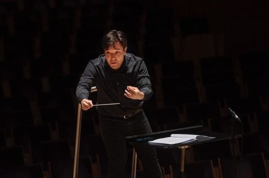 Aage Richard Meyer, dirigentstudent ved Fakultet for utøvende kunstfag. Foto: Marie von Krogh