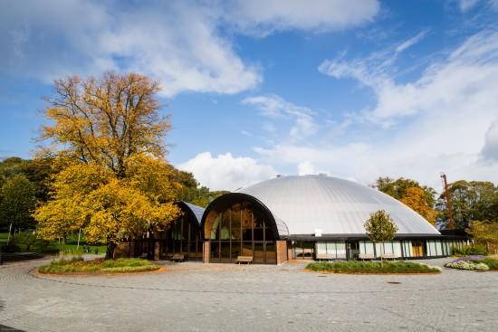 Kuppelhallen i Bjergstedparken. Foto: Marius Vervik