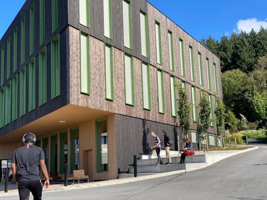 Hulda Garborgs hus, campus Ullandhaug