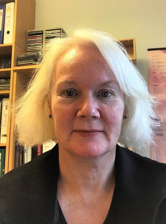 Førsteamanuensis Lise Karin Meling ved Fakultet for utøvende kunstfag