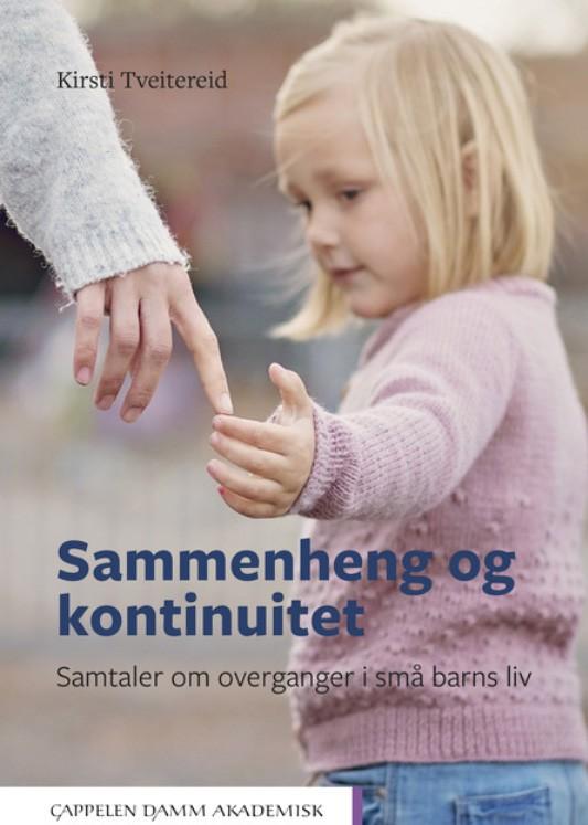 Bokomslag: Sammenheng og kontinuitet av Kirsti Tveitereid.