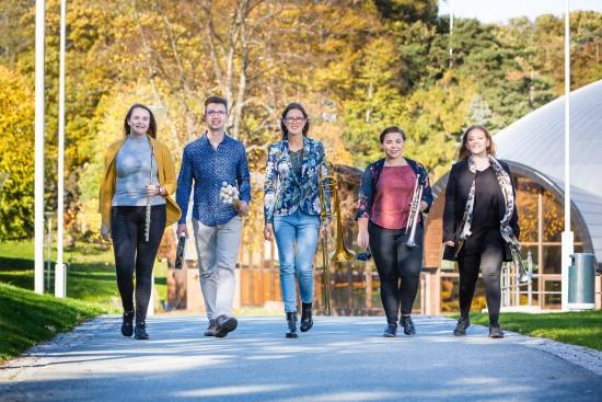 Fakultet for utøvende kunstfag, campus Bjergsted. Foto: Marius Vervik