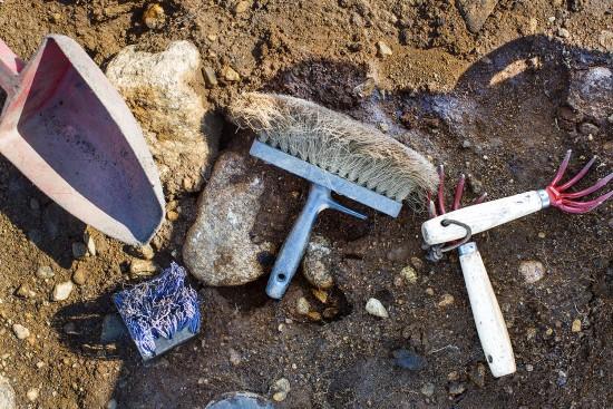 Arkeologisk utstyr