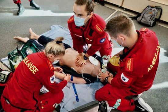 Paramedisin-studenter