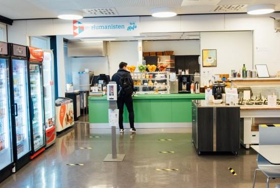 Humanisten kafe. Foto: Mari Hult