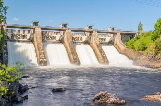 Foto av norsk vannkraftverk