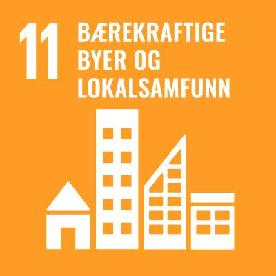 FNs bærekraftsmål 11 - bærekraftige byer og lokalsamfunn