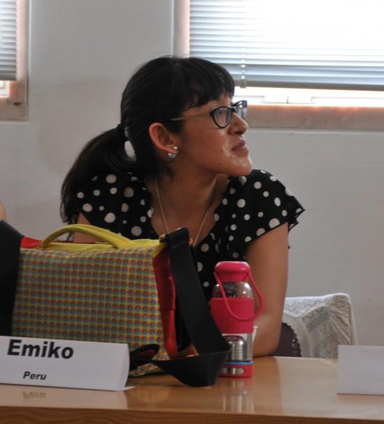 Mfamily alumni Emiko Matsuo