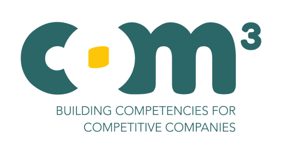 Logo for the COM3 project