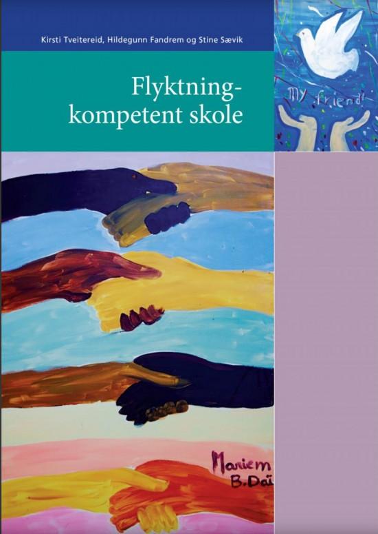 Omslaget til heftet Flyktningkompetent skole, utgitt på Pedlex i 2017