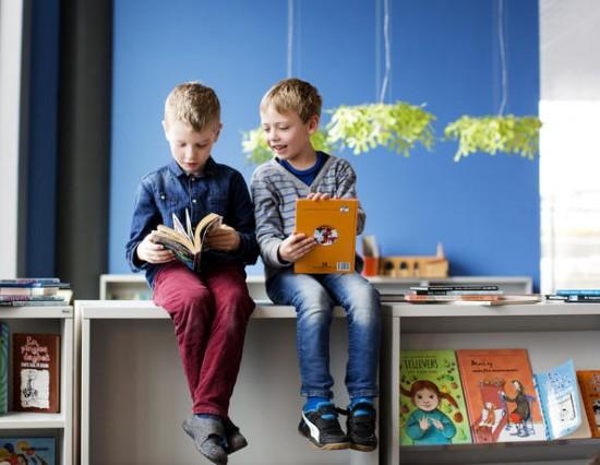 to gutter leser. foto: Elisabeth Tønnessen