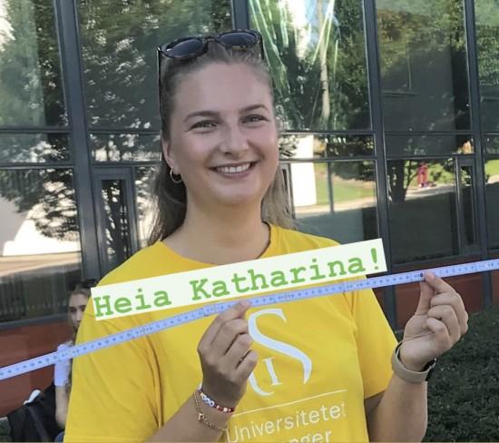 Katharina Olsen, lærerstudent