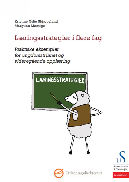Læringsstrategier i alle fag omslag