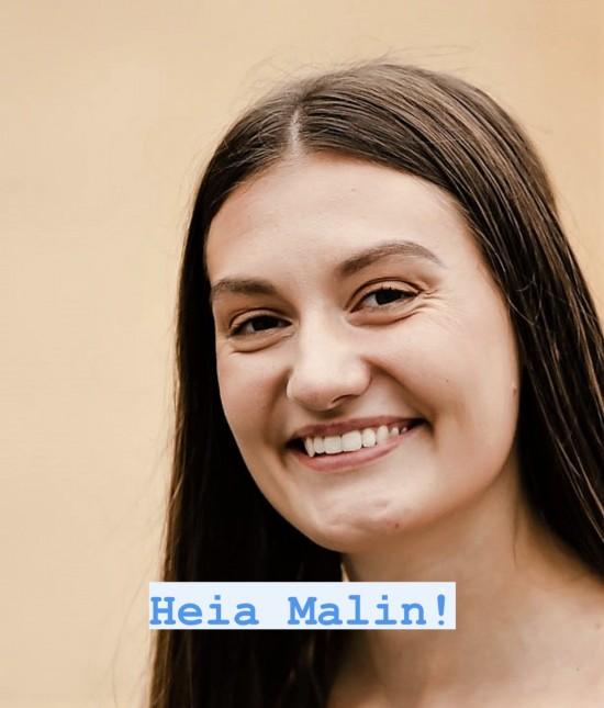 Malin Harr Overland, elektroingeniør-student