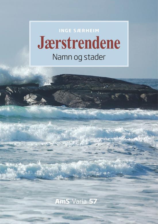 Forsida av boka Jærstrendene - Namn og stader