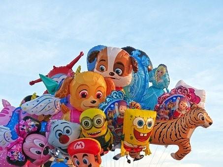 heliumballonger. foto: pixabay