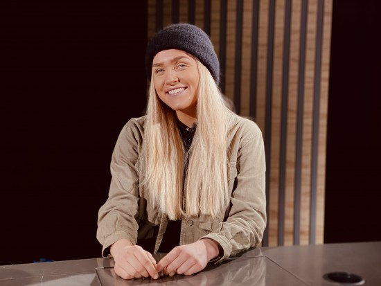 Tomine Walmsness, journaliststudent