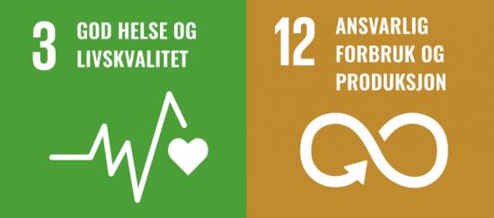 FNs bærekraftsmål nr 3 og 12