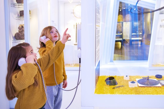 Barn på Arkeologisk museum