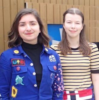 Medforskere Nicole E. Cardenas og Julia Rose Game