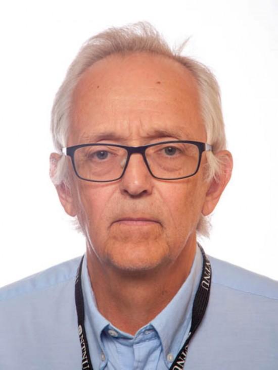 Portrettfoto av Svein Sævik, NTNU
