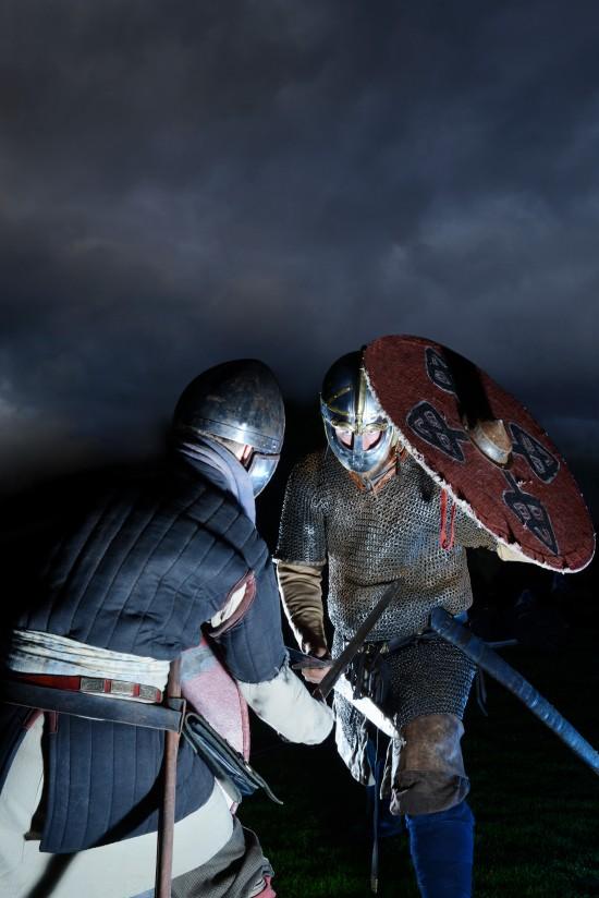 Vikinger i kamp