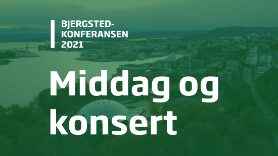 Bjergsted-konferansen 2021. Kveldsprogram