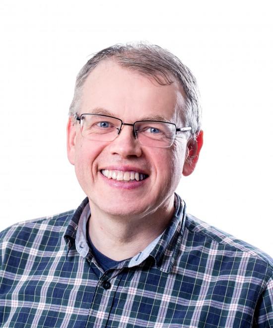 Portrettfoto av Geir Nævdal