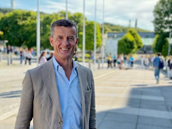Rektor Klaus Mohn semesterstart 2021