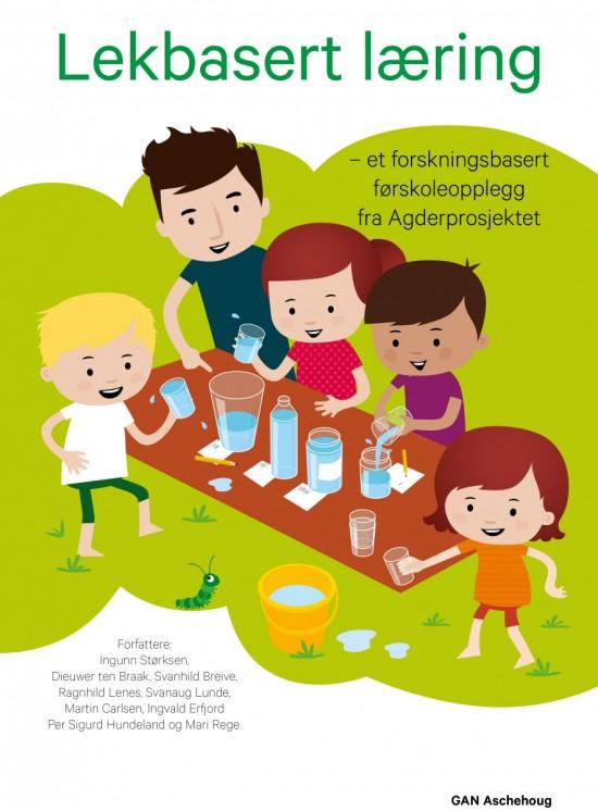 Omslag til boka Lekbasert læring
