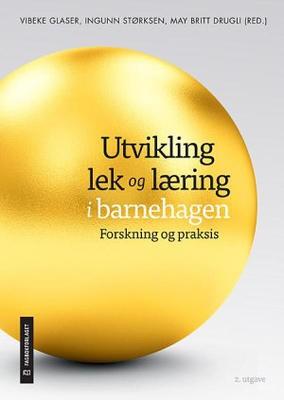 Omslag til boka Utvikling, lek og læring fra Fagbokforlaget