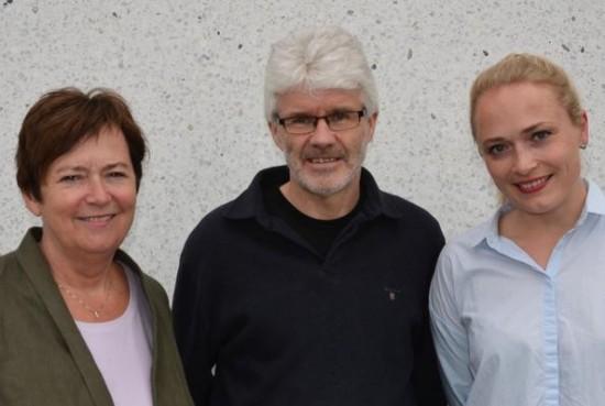 Elin Ødegård, Helge Røys og Julie Nordahl