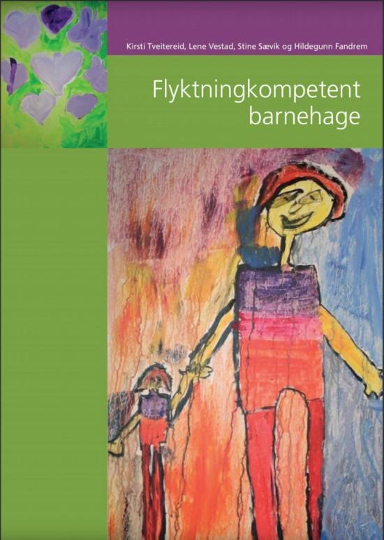 Omslag til boka Flyktningkompetent barnehage
