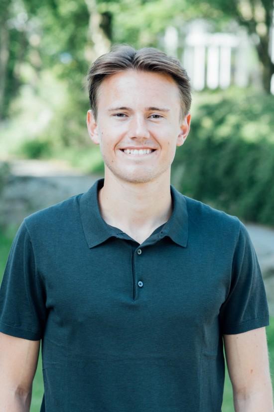 Simen Hagen Ekeberg, nestleder for utdanning i StOr 2020/2021