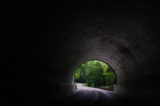 Bilde av tunnel for biler