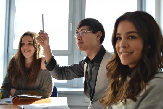 Internasjonale studenter undervisning