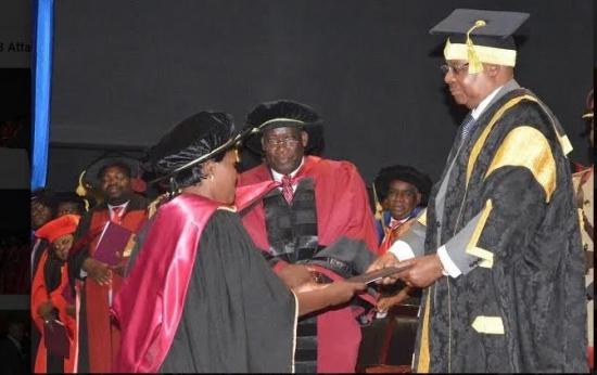 Malawi Florence thomo Mamba phd graduation  mathematics