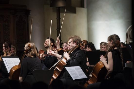 Universitetets julekonsert 2017 i St. Petri kirken. Foto: Marie von Krogh