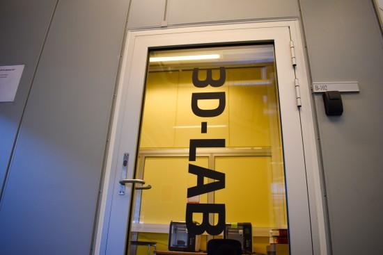 Inngangen til 3D-laben i biblioteket