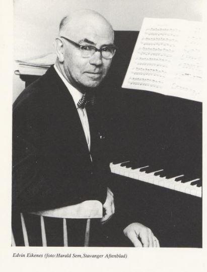 Den 27. august 2020 var det 75 år siden pianisten og Stavanger-mannen Edvin Eikenes grunnla Stavanger Musikkonservatorium. Foto: Privat