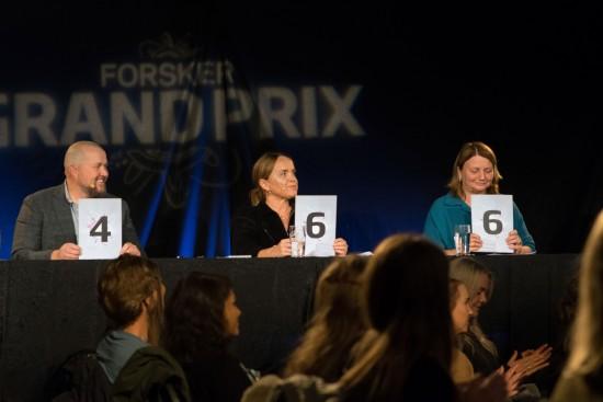 Poenggivning under Forsker Grand Prix