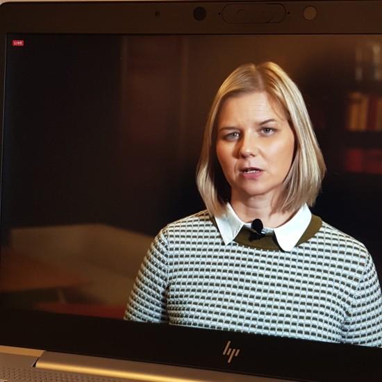 Kunnskaps- og integreringsminister Guri Melby