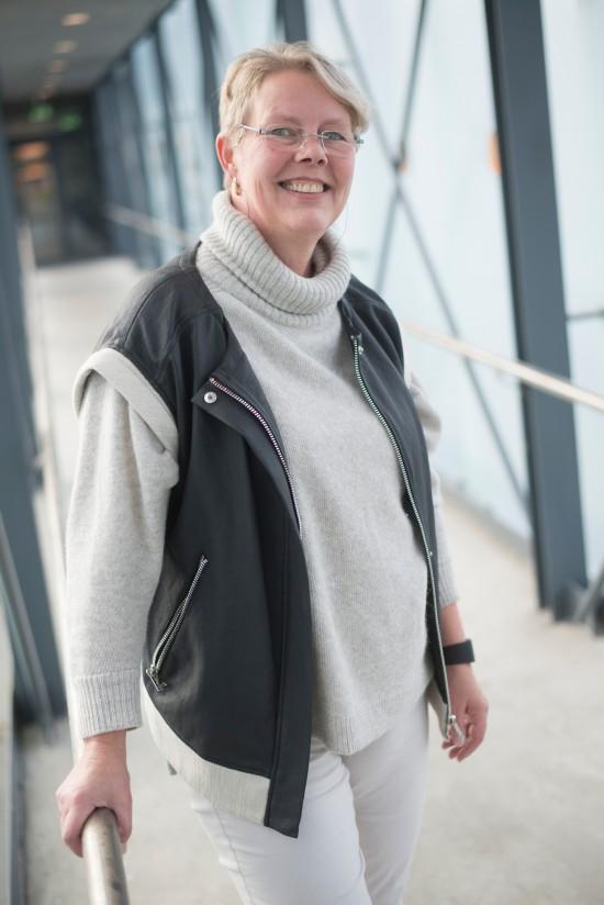 Portrettbilde av Kirsten Voigt Juhl.