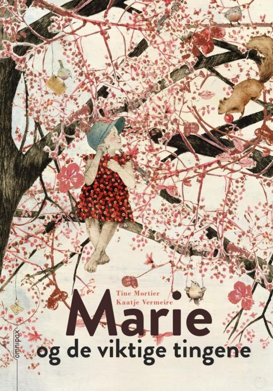 Forside: Illustrasjon av jente som sitter i et tre